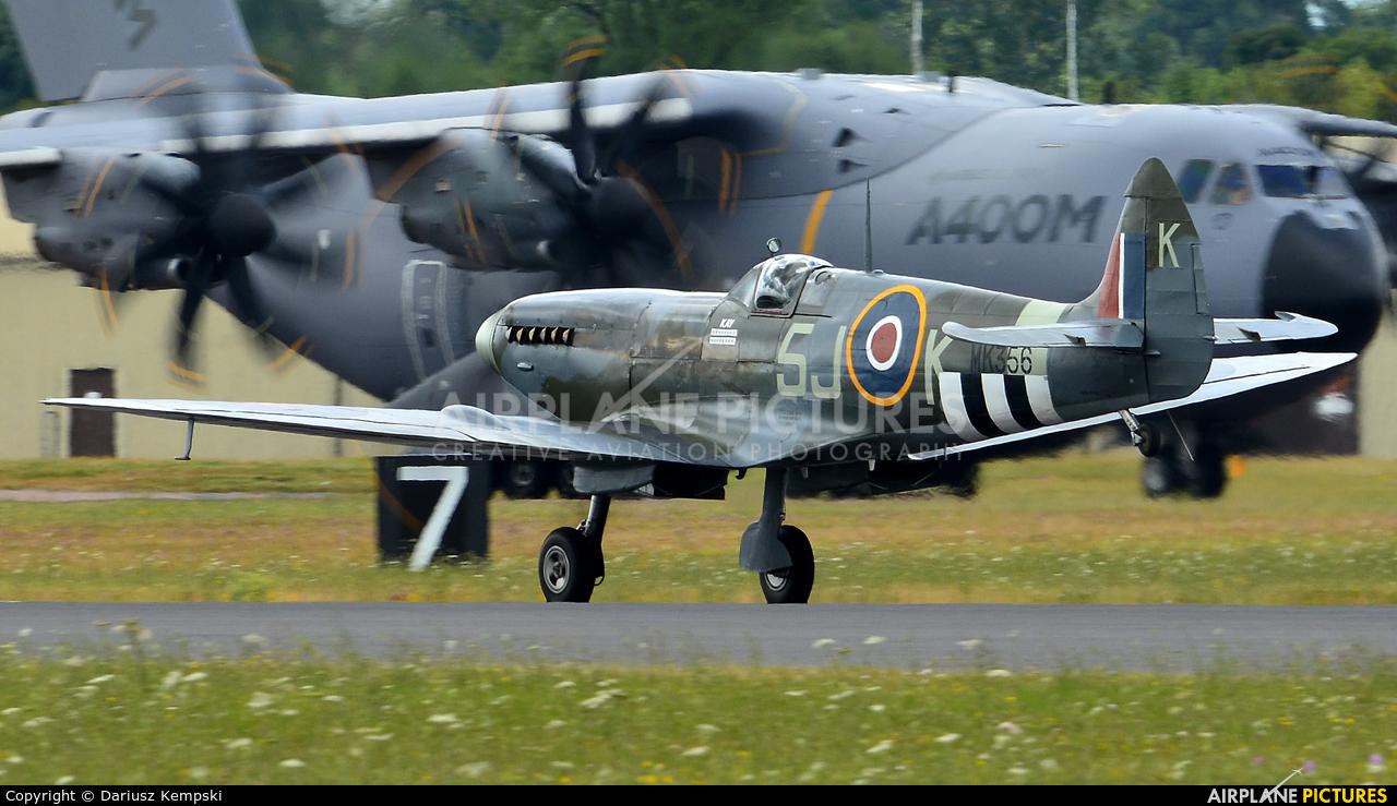 "Royal Air Force ""Battle of Britain Memorial Flight"" MK356 aircraft at Fairford"