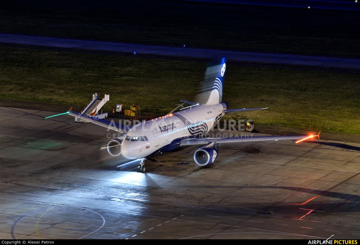 Aurora VP-BUK aircraft at Krasnoyarsk - Yemelyanovo