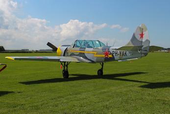 PH-YAK - Private Yakovlev Yak-52