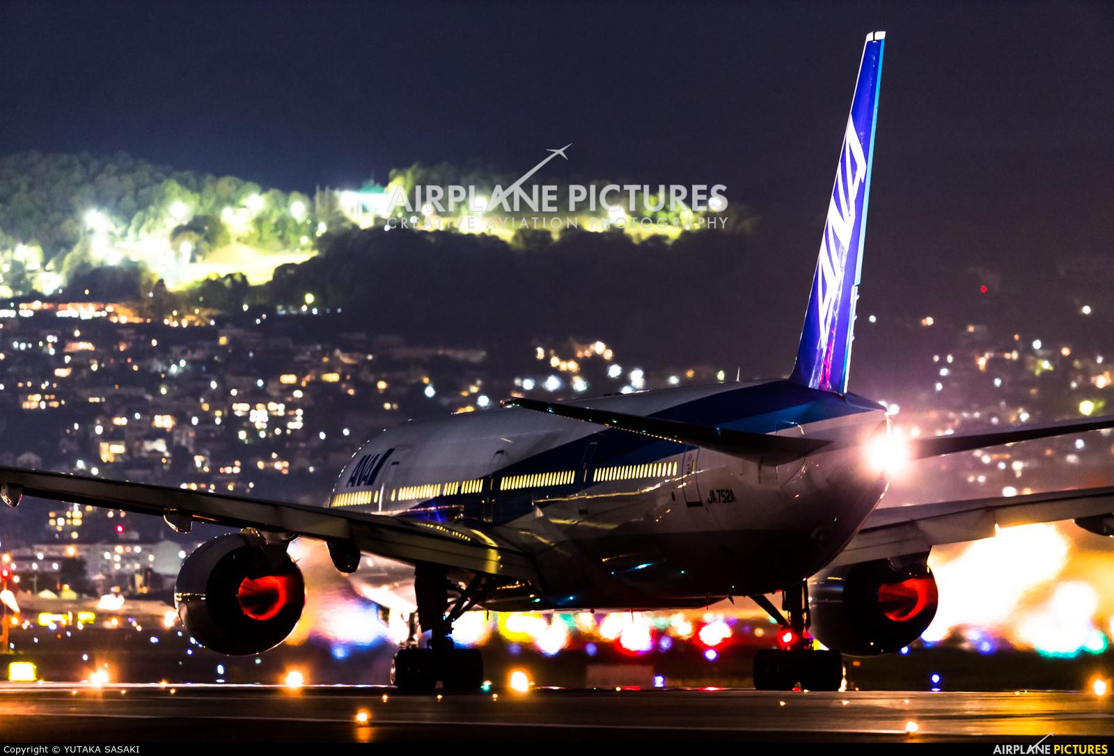 ANA - All Nippon Airways JA752A aircraft at Osaka - Itami Intl