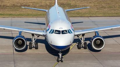 G-EUYH - British Airways Airbus A320