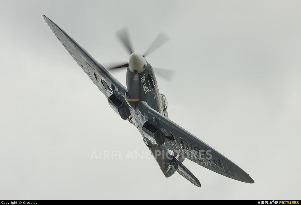 "Royal Air Force ""Battle of Britain Memorial Flight"" PS915 aircraft at Bruntingthorpe"