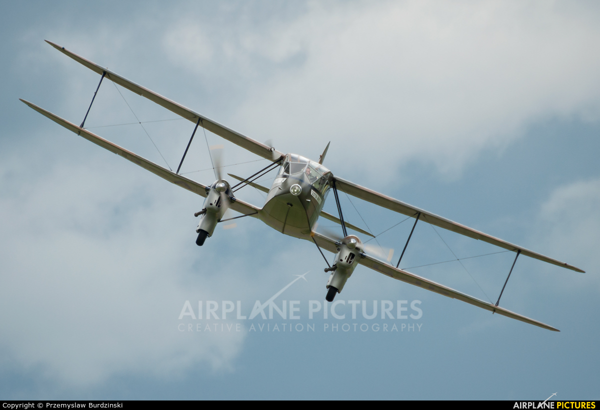 Private G-AGJG aircraft at Duxford