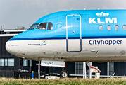 PH-KZC - KLM Cityhopper Fokker 70 aircraft