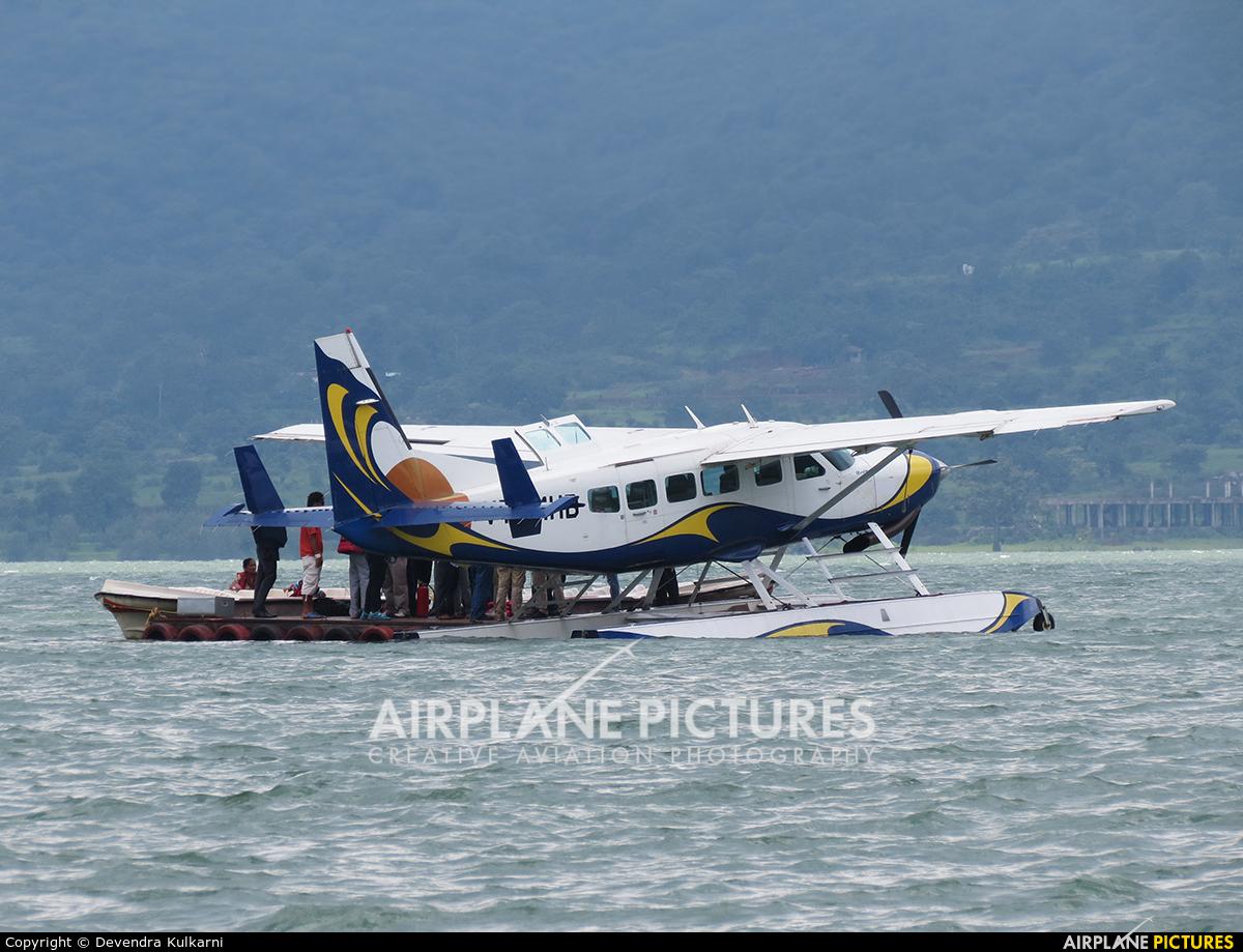 MEHAIR VT-MHB aircraft at Off Airport - India