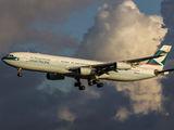 B-HXK - Cathay Pacific Airbus A340-300 aircraft
