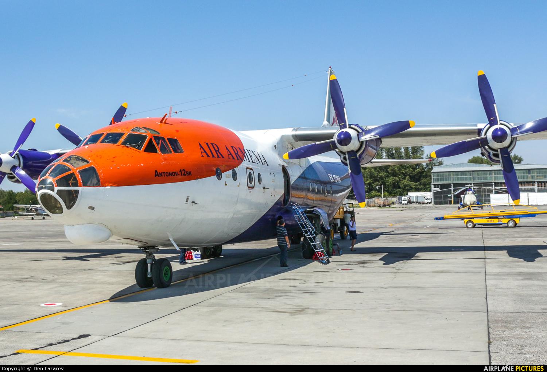 Air Armenia EK-12104 aircraft at Rostov-on-Don