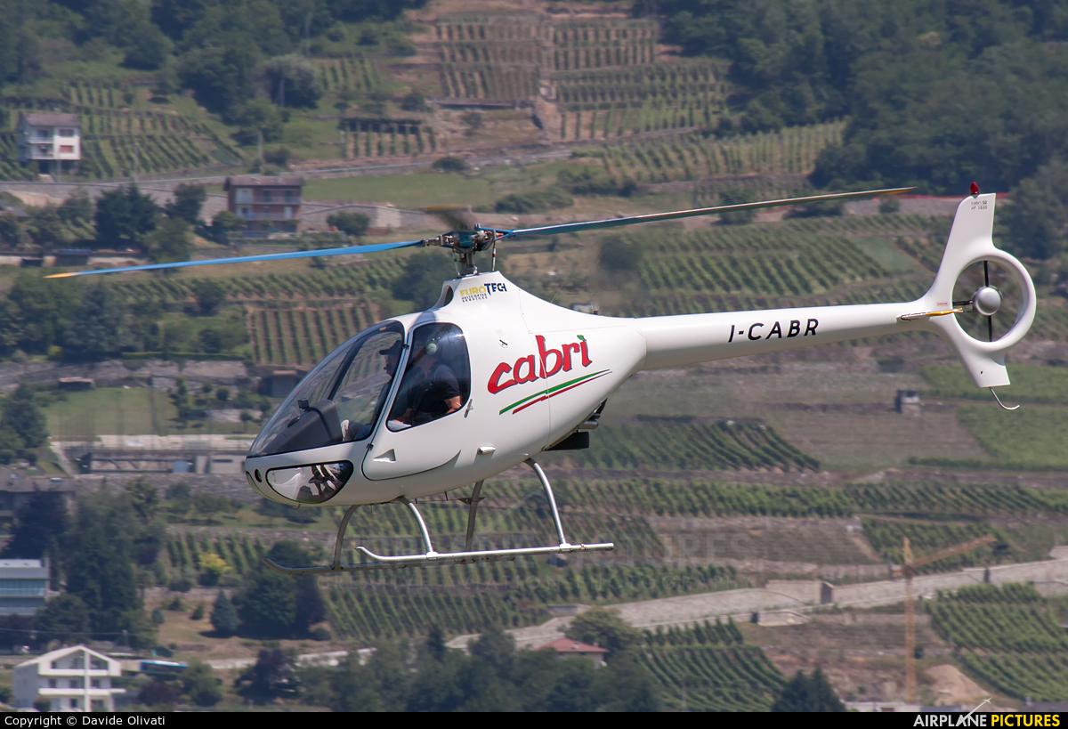 Private I-CABR aircraft at Caiolo - Sondrio