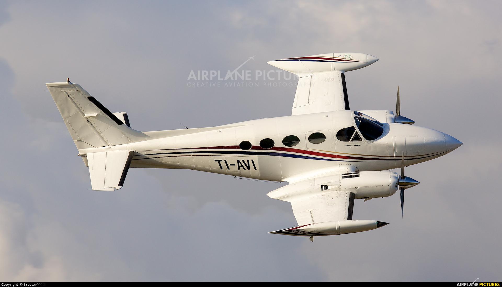 Private TI-AVI aircraft at San Jose - Juan Santamaría Intl
