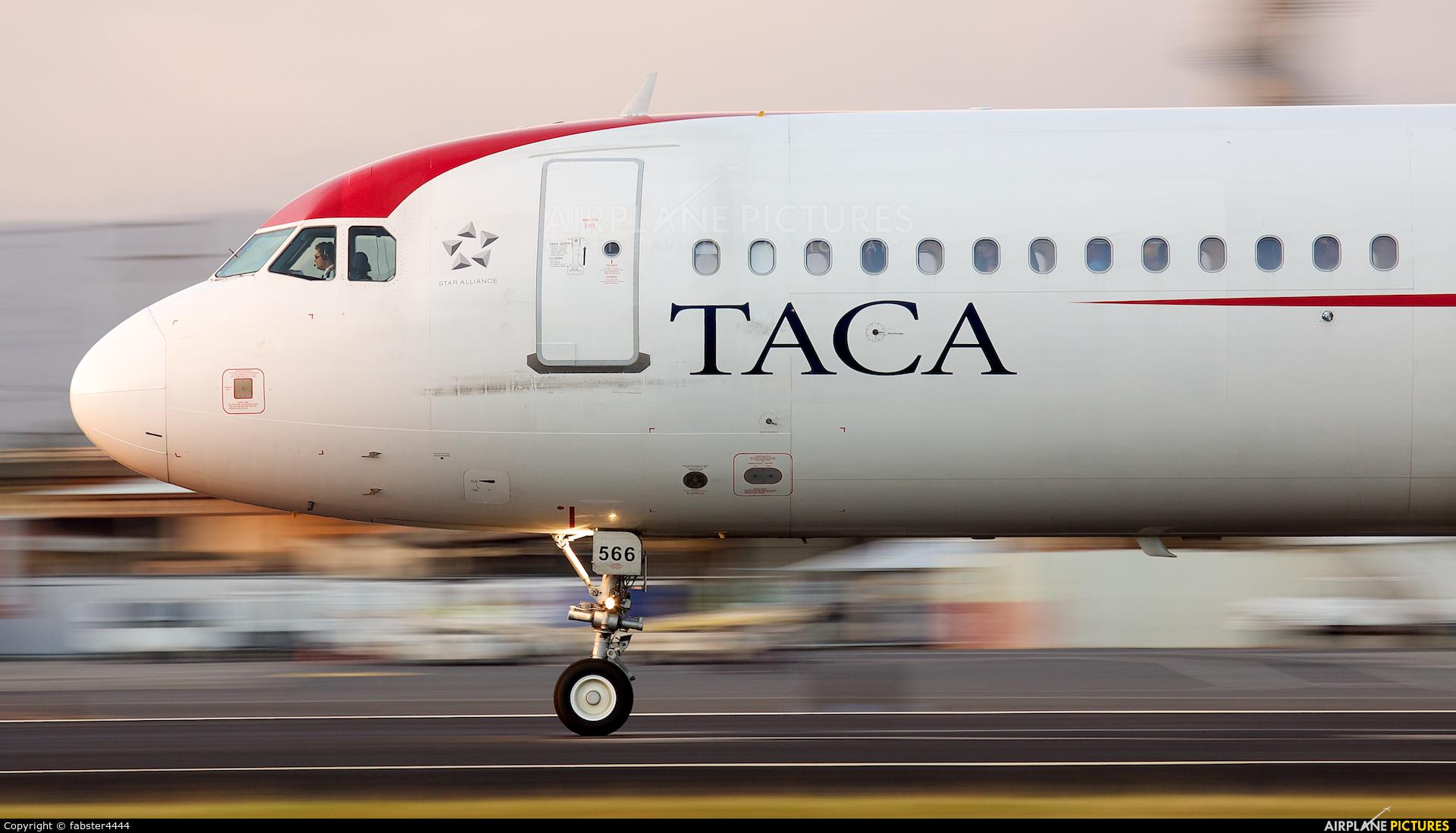 TACA N566TA aircraft at San Jose - Juan Santamaría Intl