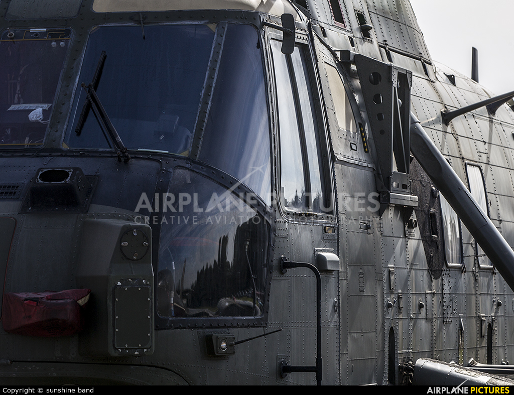 Royal Navy: Royal Marines ZG822 aircraft at Bruntingthorpe