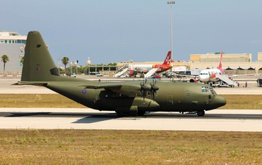 ZH887 - Royal Air Force Lockheed Hercules C.5