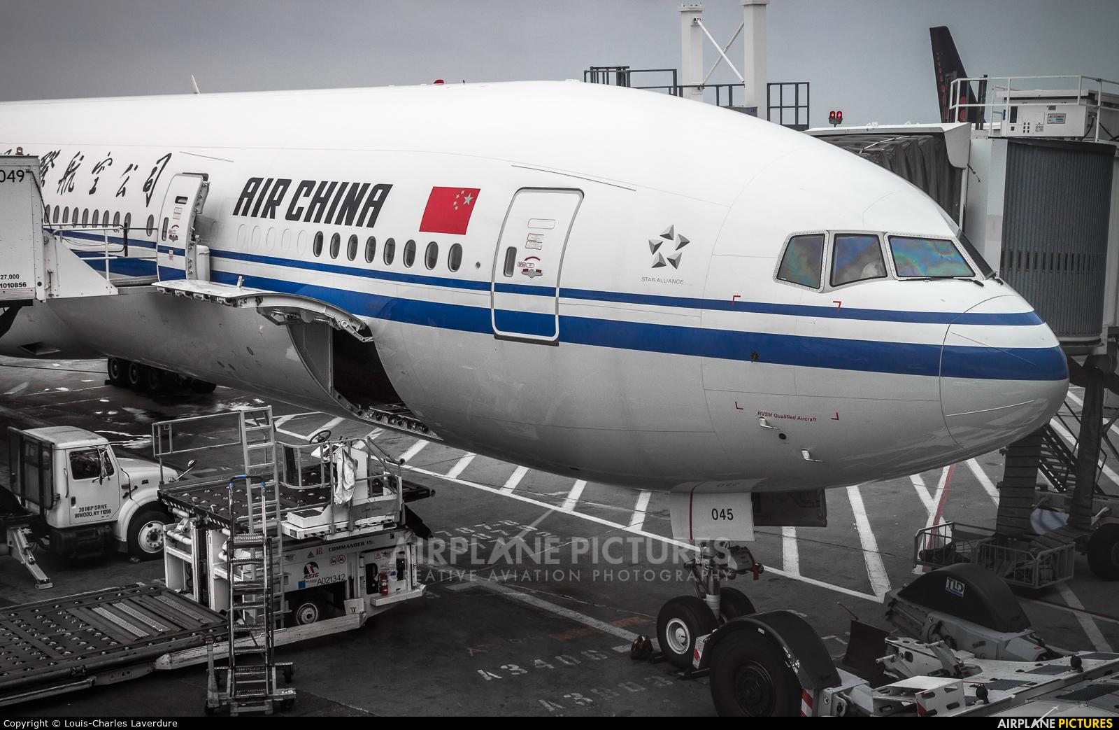 Air China B2045 aircraft at New York - John F. Kennedy Intl