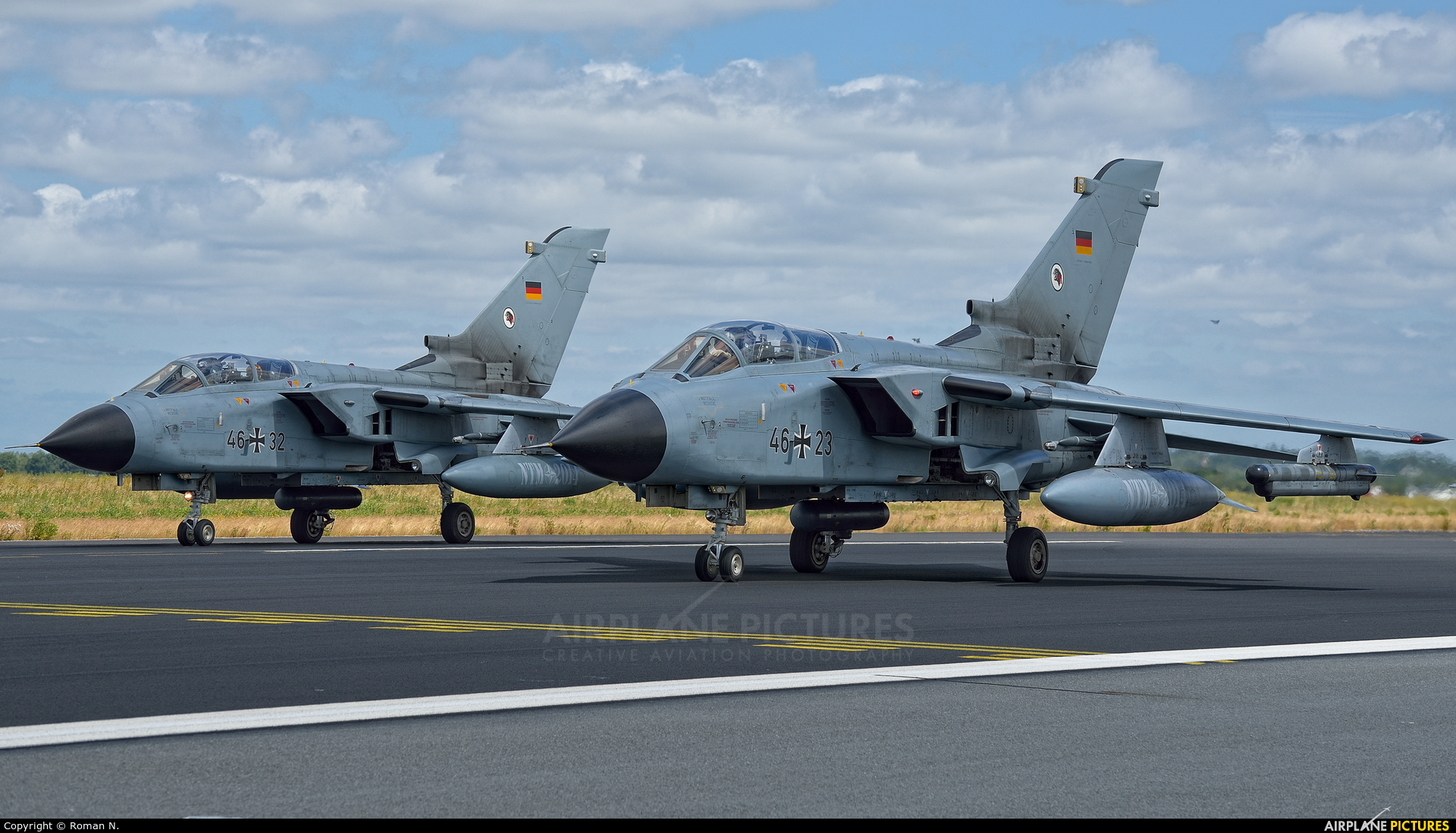 Germany - Air Force 46+23 aircraft at Schleswig-Jagel