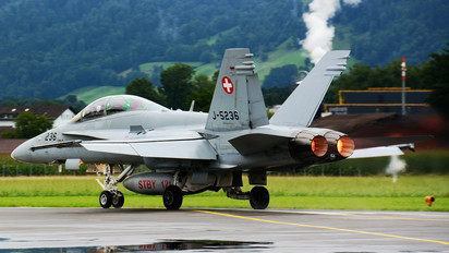 J-5236 - Switzerland - Air Force McDonnell Douglas F/A-18D Hornet