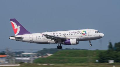 B-MAM - Air Macau Airbus A319