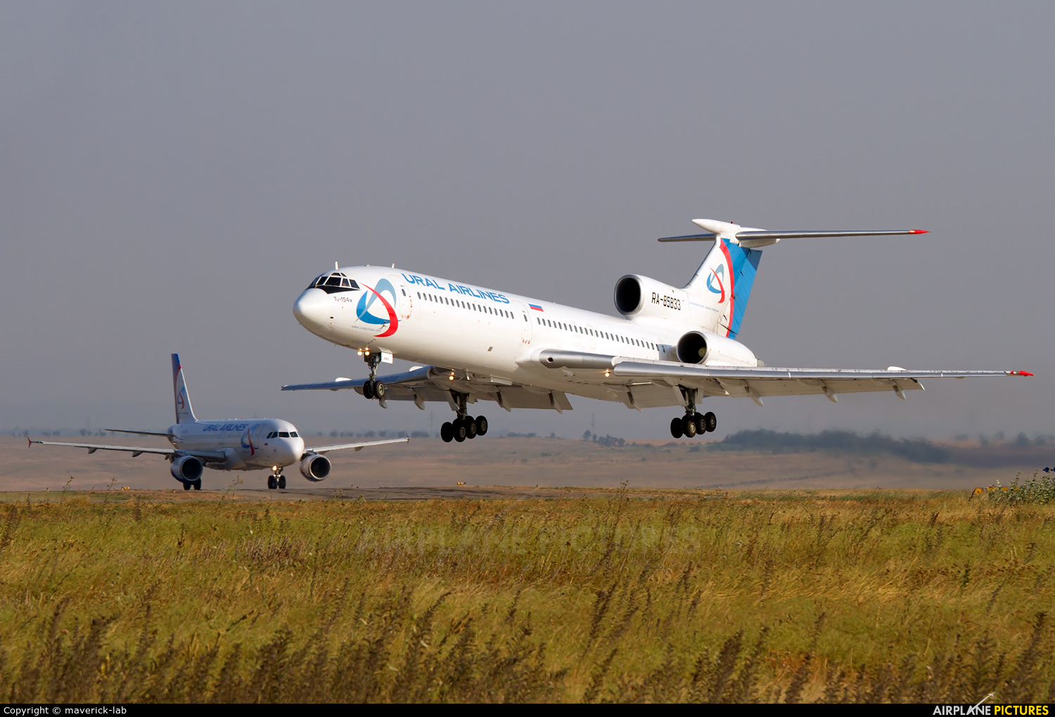 Ural Airlines RA-85833 aircraft at Simferepol Intl
