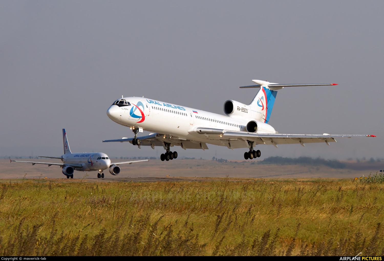 Ural Airlines RA-85833 aircraft at Simferepol Intl