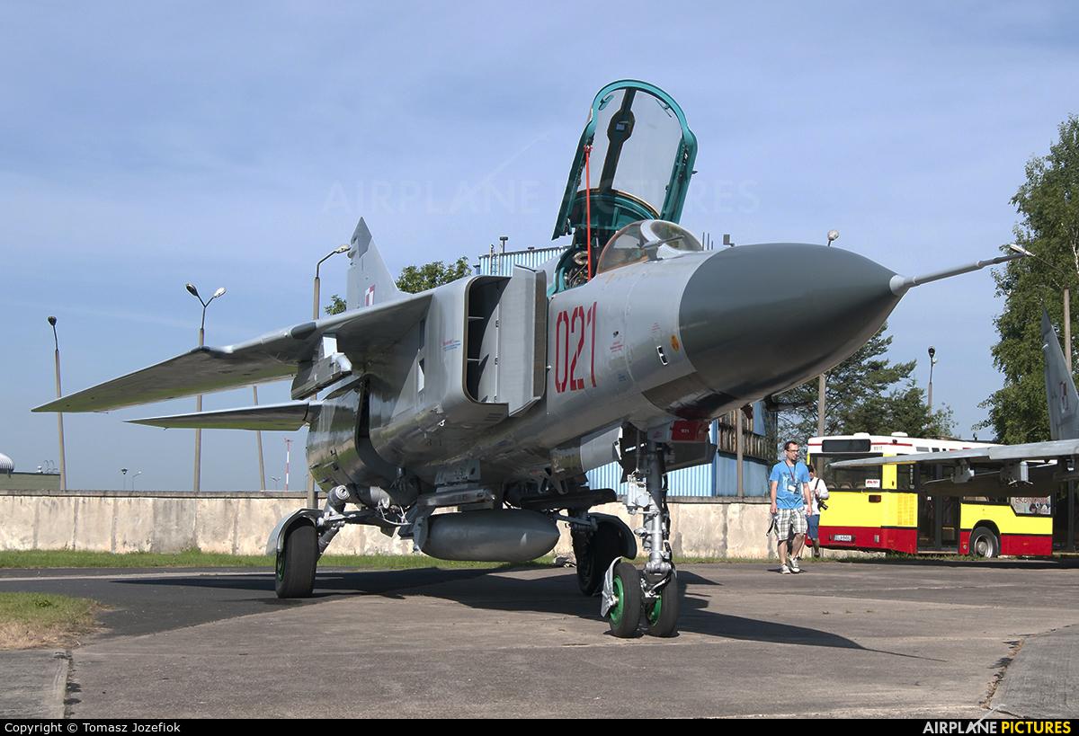 Poland - Air Force 021 aircraft at Łask AB