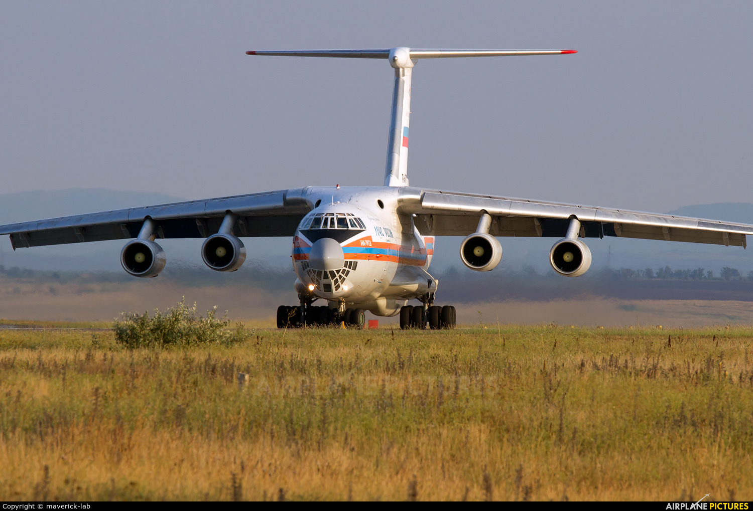 Russia - МЧС России EMERCOM RA-76429 aircraft at Simferepol Intl