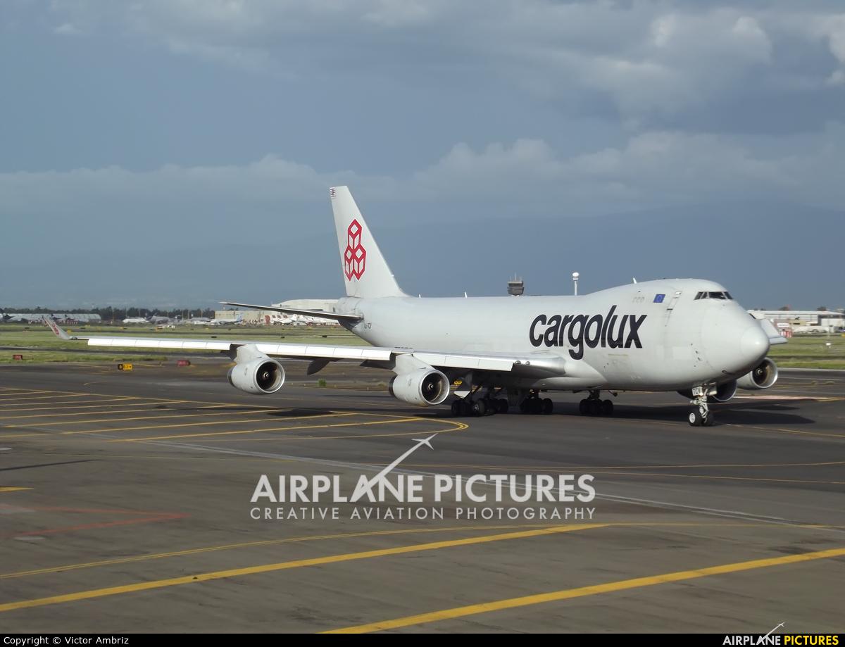 Cargolux LX-TCV aircraft at Mexico City - Licenciado Benito Juarez Intl