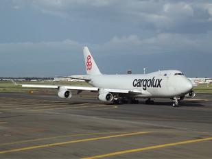 LX-TCV - Cargolux Boeing 747-400F, ERF