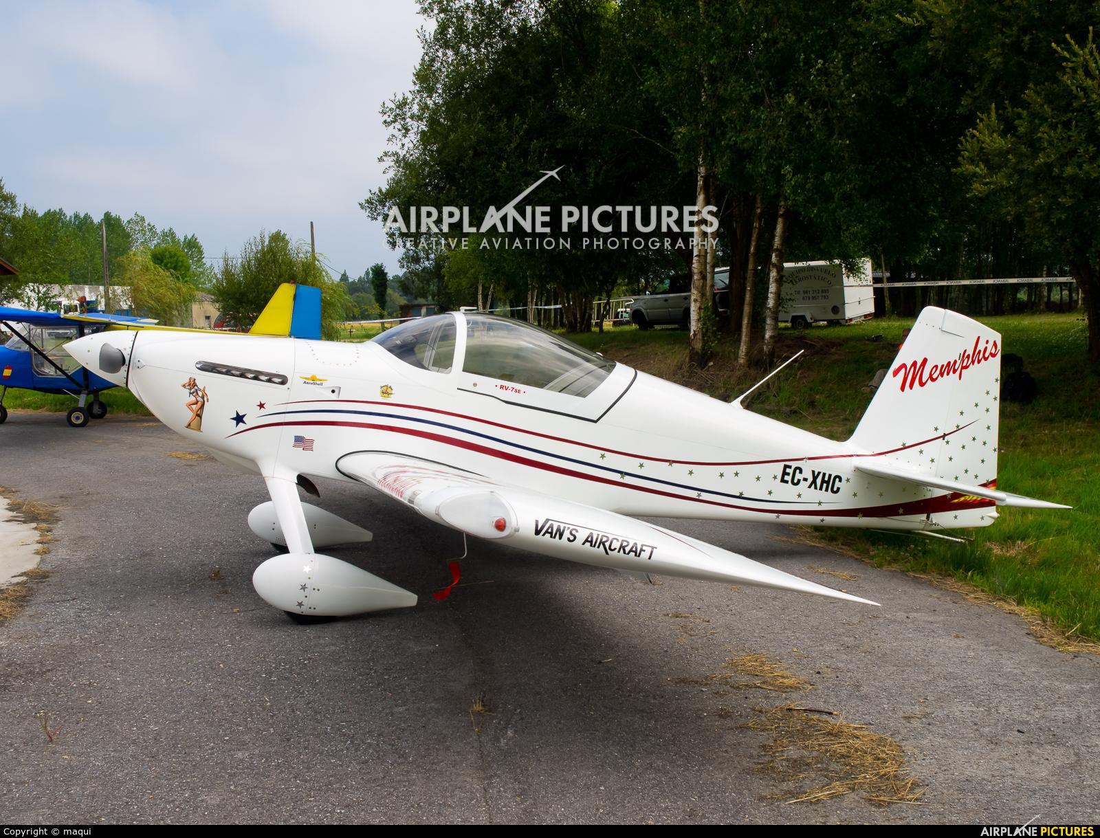 Private EC-XHC aircraft at Lugo - Rozas