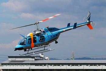 JA6956 - Japan - Police Bell 206L Longranger