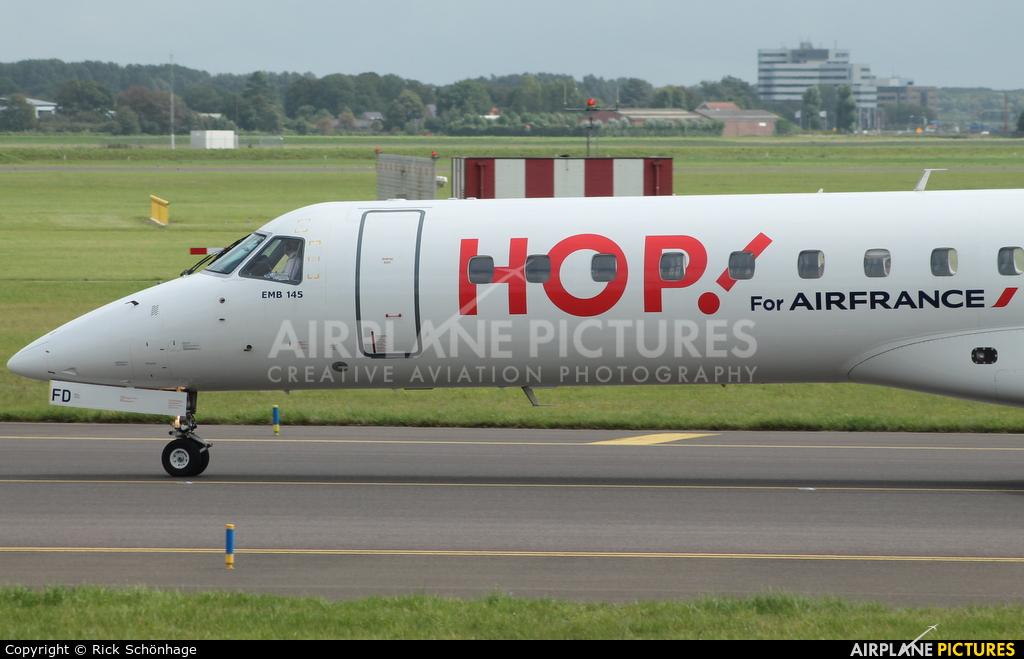 Air France - Hop! F-GUFD aircraft at Amsterdam - Schiphol