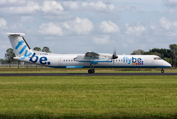 G-FLBA - Flybe de Havilland Canada DHC-8-400Q / Bombardier Q400