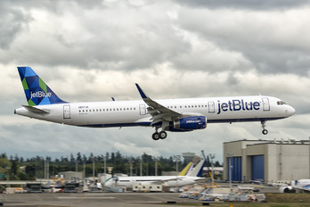N937JB - JetBlue Airways Airbus A321