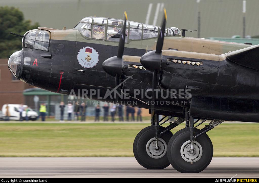 Canadian Warplane Heritage C-GVRA aircraft at Waddington