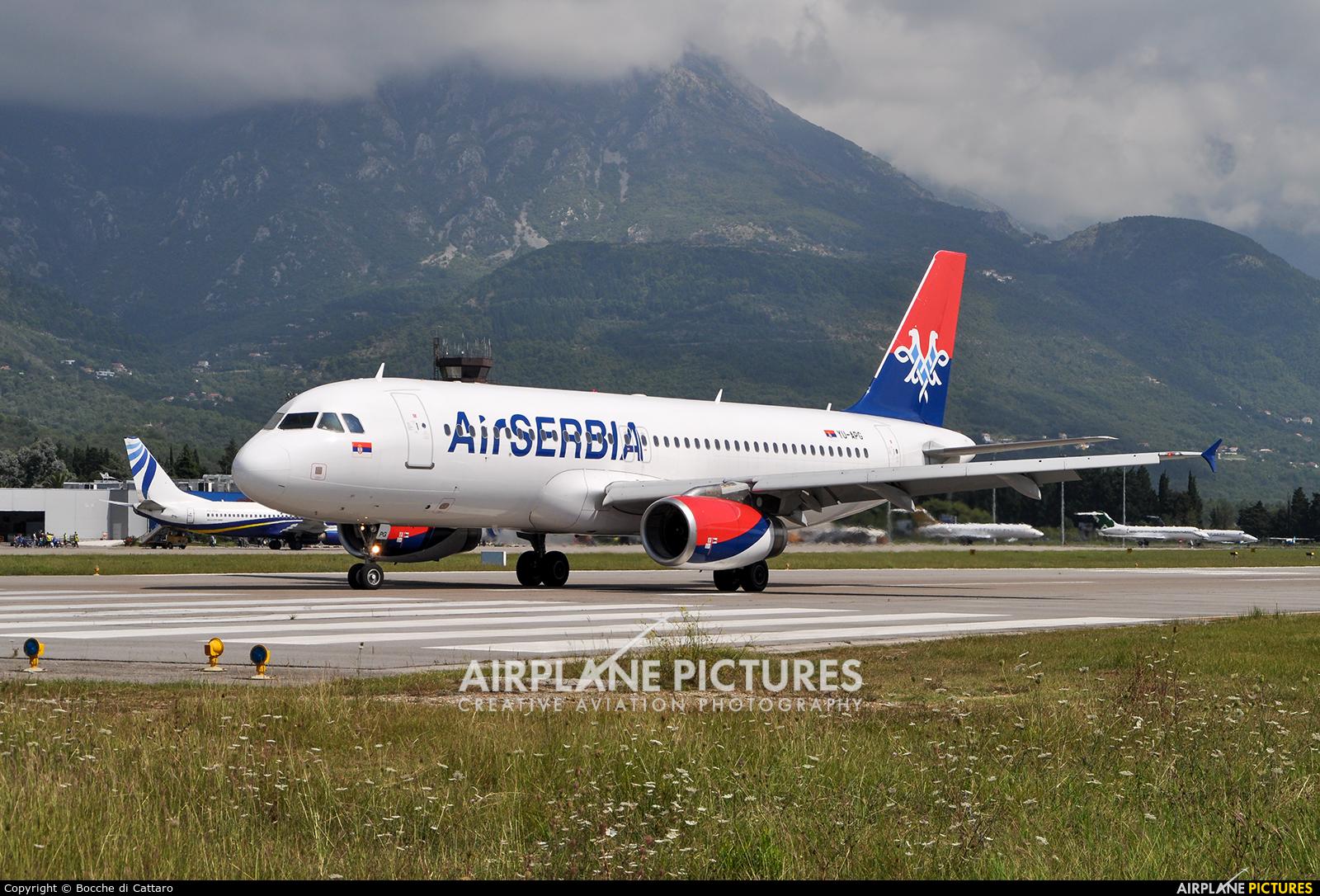 Avionske Karte Air Serbia.Yu Apg Air Serbia Airbus A320 At Tivat Photo Id 451751