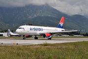 YU-APG - Air Serbia Airbus A320 aircraft