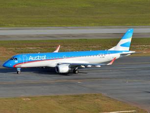 LV-CMB - Austral Lineas Aereas Embraer ERJ-190 (190-100)
