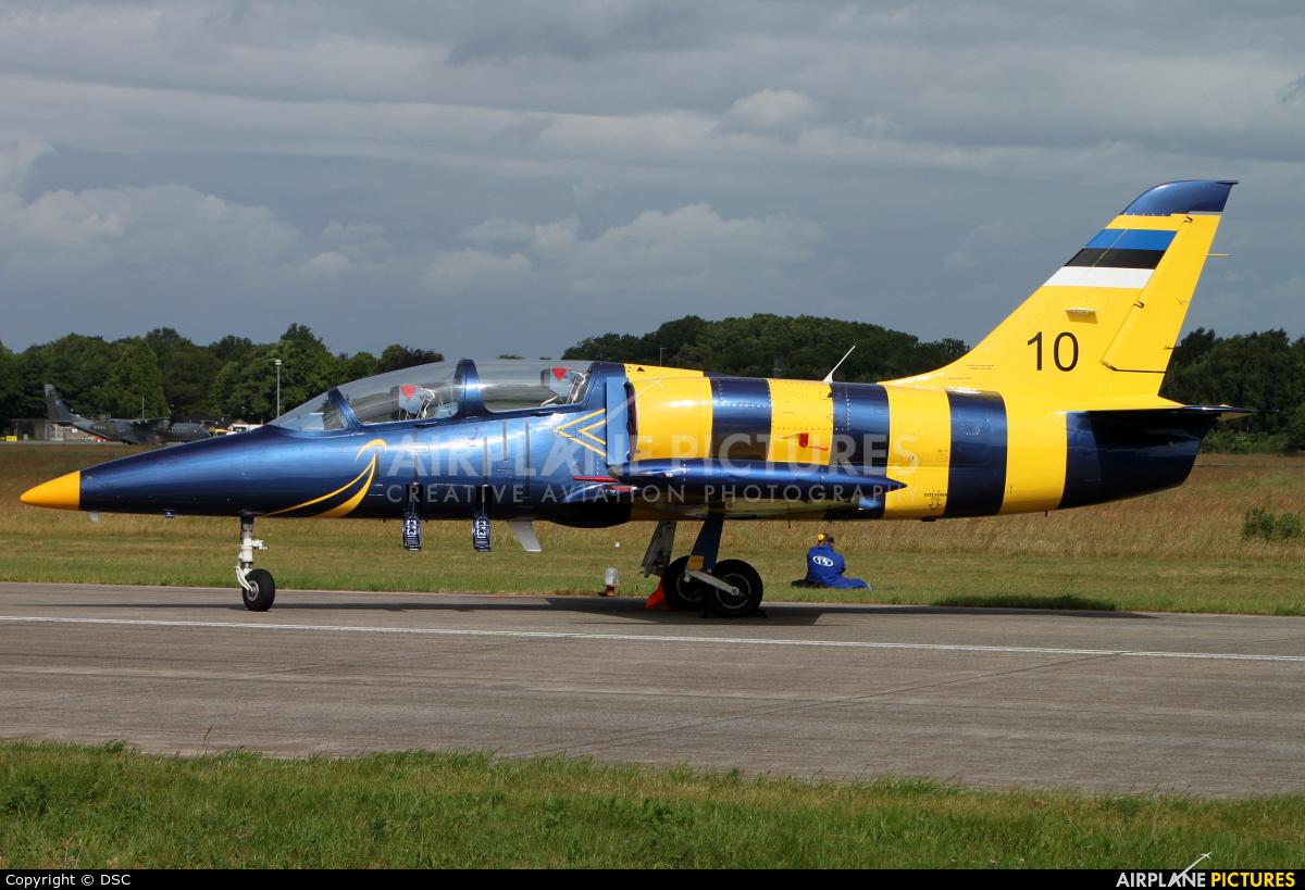 Baltic Bees Jet Team 10 aircraft at Uden - Volkel
