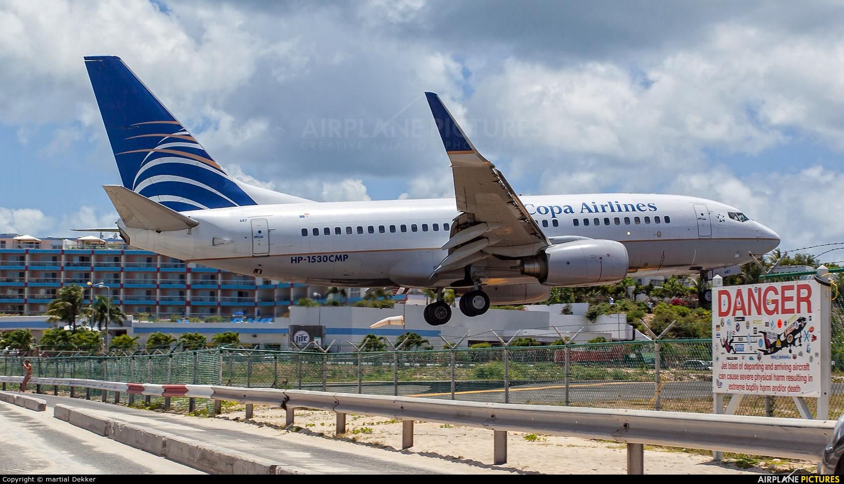 Copa Airlines HP-1530CMP aircraft at Sint Maarten - Princess Juliana Intl
