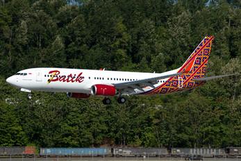 PK-LBL - Batik Air Boeing 737-800