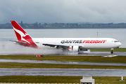VH-EFR - QANTAS Boeing 767-300F aircraft