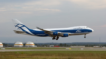 VP-BIK - Air Bridge Cargo Boeing 747-400F, ERF