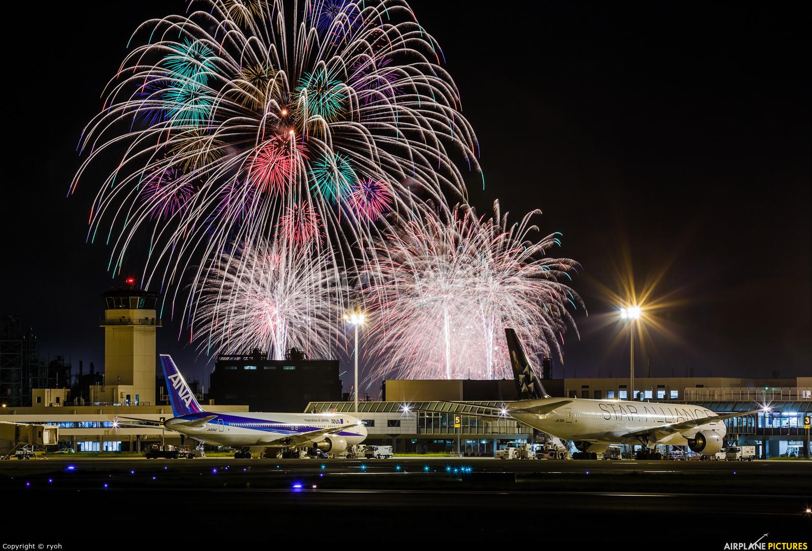 - Airport Overview - aircraft at Matsuyama
