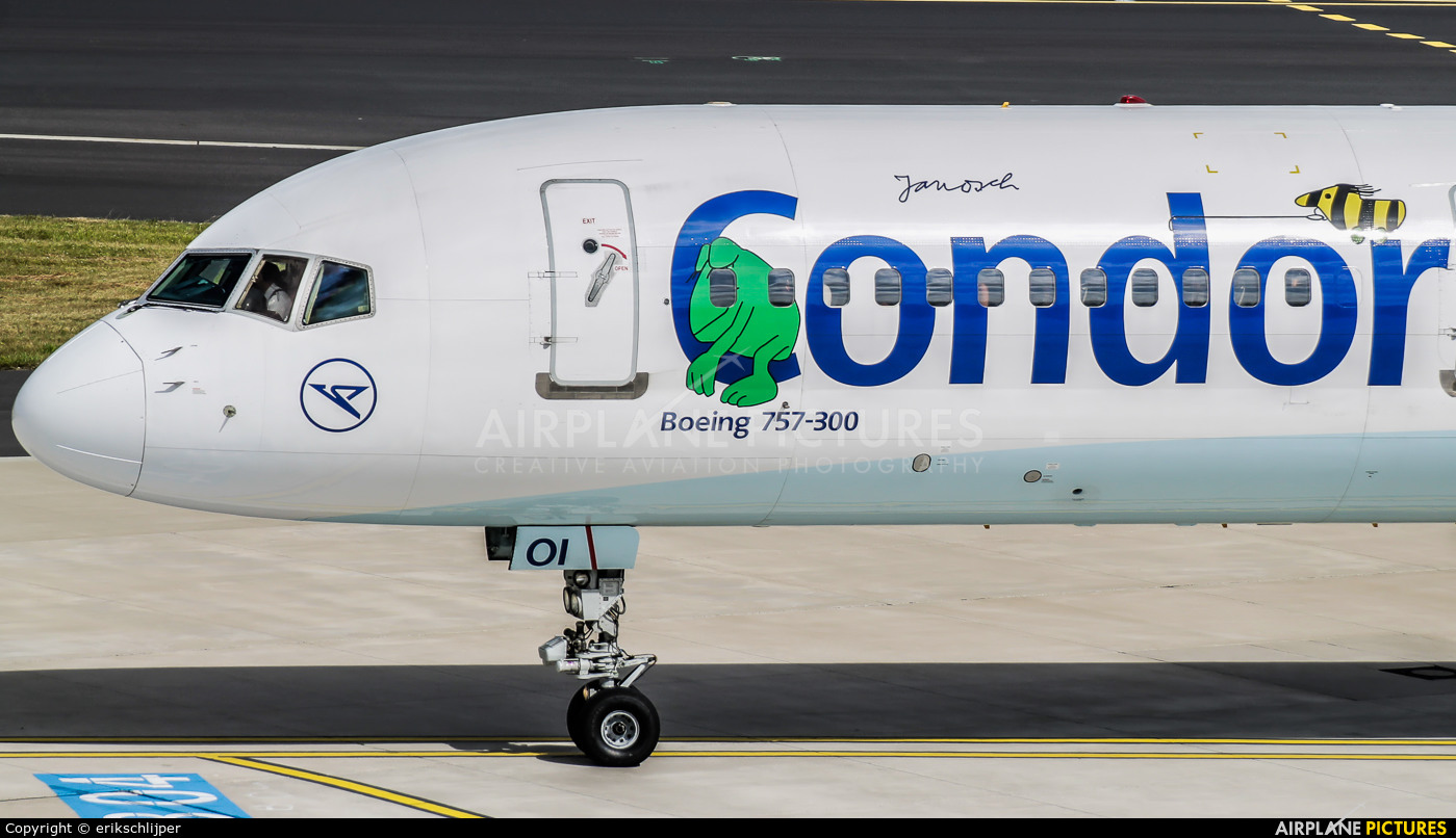 Condor D-ABOI aircraft at Düsseldorf