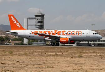 G-EZUN - easyJet Airbus A320