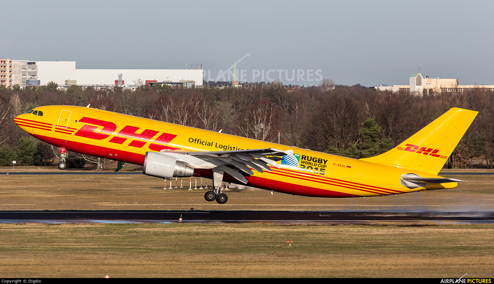 d aeac dhl cargo airbus a300f at berlin tegel photo id 439871 airplane. Black Bedroom Furniture Sets. Home Design Ideas