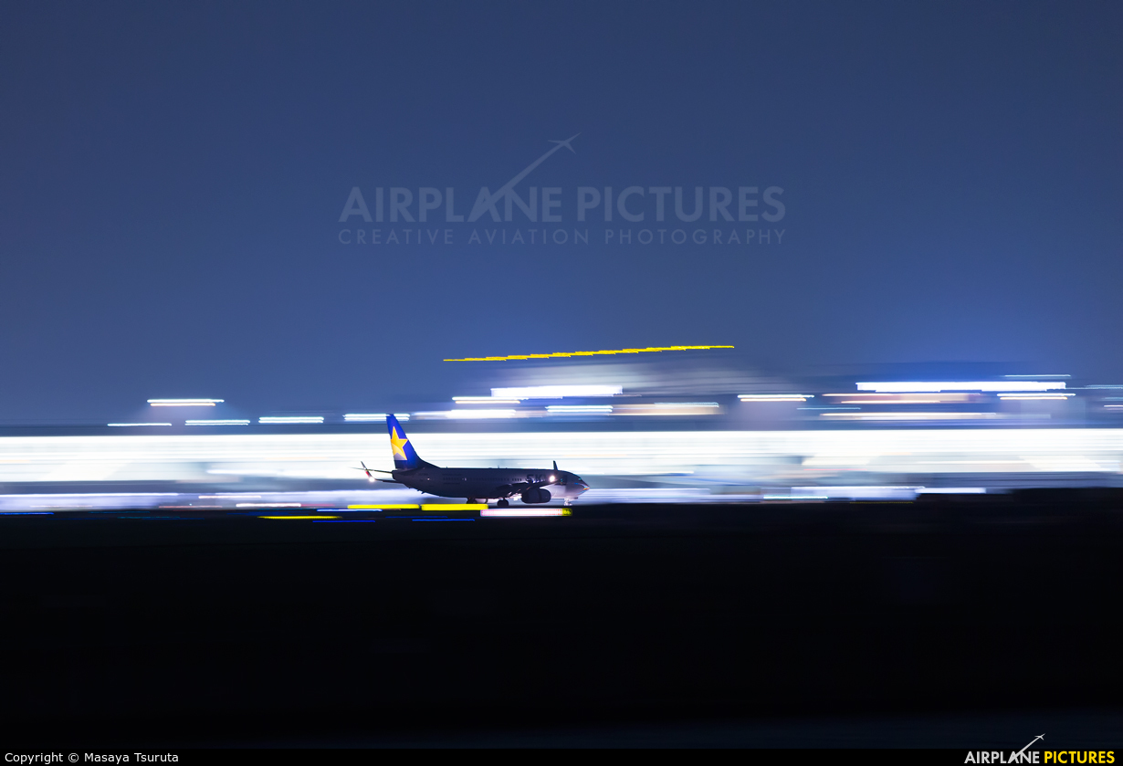 Skymark Airlines JA73NC aircraft at Tokyo - Haneda Intl