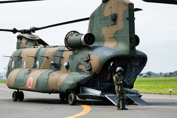 52979 - Japan - Air Self Defence Force Kawasaki CH-47J Chinook