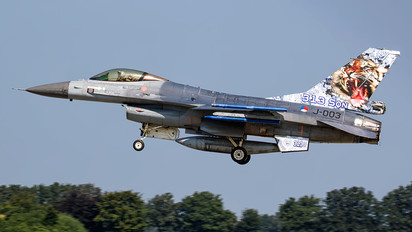 J-003 - Netherlands - Air Force General Dynamics F-16A Fighting Falcon