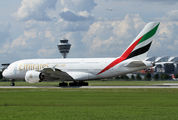 A6-EDI - Emirates Airlines Airbus A380 aircraft