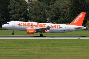G-EZUV - easyJet Airbus A320