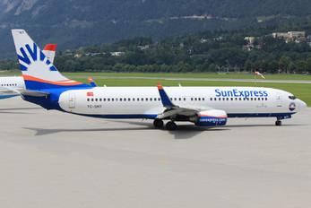 TC-SNT - SunExpress Boeing 737-800